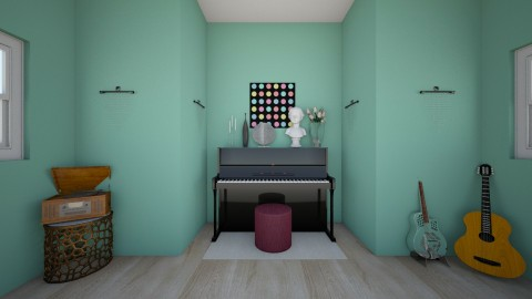 Music Room - Modern - by bwilli