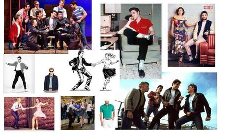 Swing Dance Mens Costumes - by Maryna Gradnova