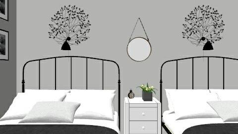 Venable Guest Room-1 - Bedroom - by loft313