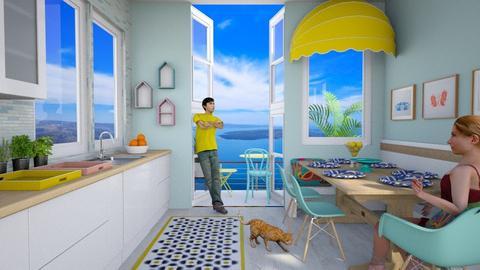 Playful Kitchen - Kitchen - by lauren_murphy