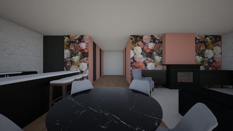 appartement jet - by Hannah Van Schaik
