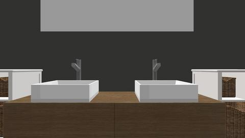 bathroom design 1 - Modern - Bathroom - by addiemel1