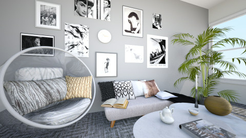 Woonkamer - Living room - by Simonexx