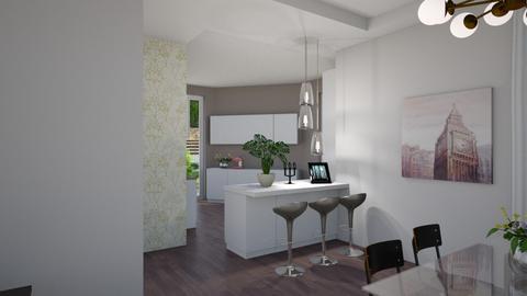 silvia cucina aperta - Eclectic - Living room - by gloria marietti