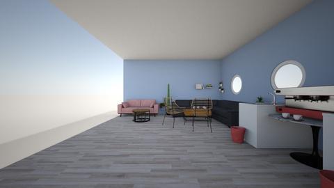ontwerp D vleugel - Retro - Living room - by Jasmijnf