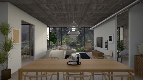 Tom Seymour - Living room - by WujdanJeyad