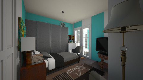 bedro om - Modern - Bedroom - by SoyJamesRody
