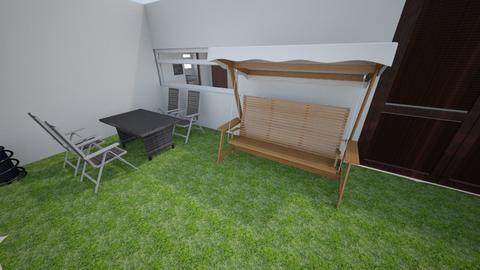 dream house  - Modern - Garden - by SebasCZ2002