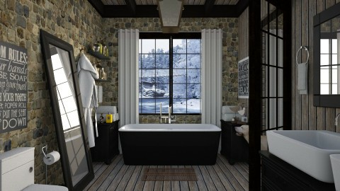 Design 196 Rustic Bath - Bathroom - by Daisy320