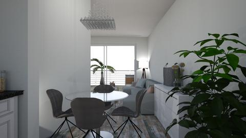 Living room and kitchenM - Modern - by Marie Harrer