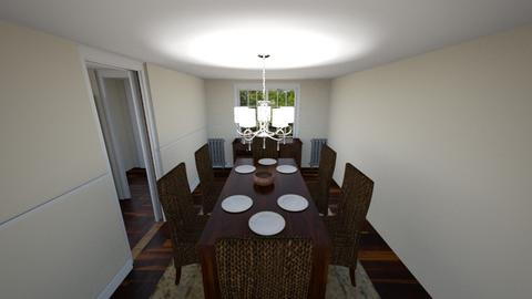 Dining Room 1309 - Dining room - by tambot5000