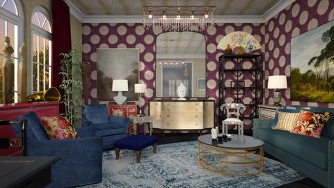 Maximalist Living Room - by lauren_murphy