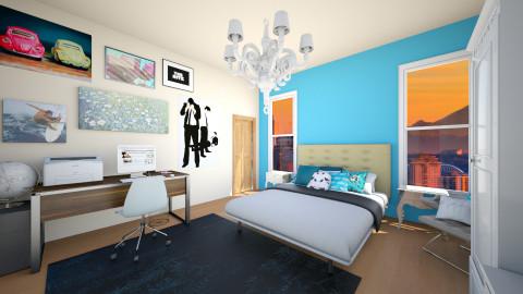apt lore - Living room - by nicksal