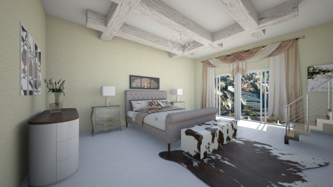 Sbr - Country - Bedroom - by Saj Trinaest