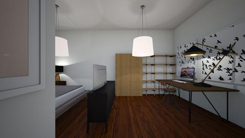 Trabajo 1 - Modern - Bedroom - by rubengb