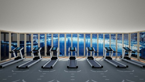 lux fitness - by canadian architect