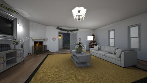 Elegant Christmas - Living room - by neverlanddesigns
