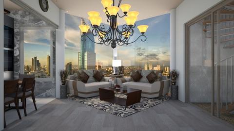 The Unique Corner - Living room - by slyteryn oliver