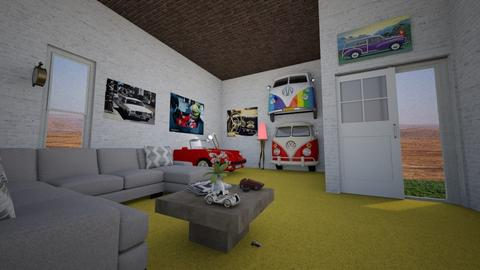 Art Collector_living room - Minimal - Living room - by Tupiniquim