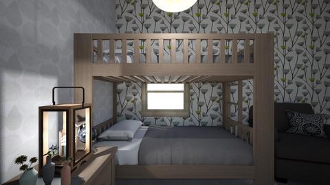 Twin room - Classic - Kids room - by Funnehfan433