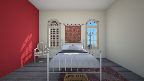 A room - Bedroom - by Cecily Reid