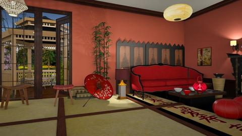 A little Japan - Living room - by marocco