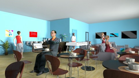 model lounge - by daneovermeyer