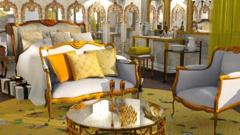 Gold - Glamour - Bedroom - by anchajaya