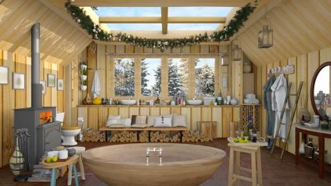 Min spa  - Eclectic - Bathroom - by Ida Dzanovic