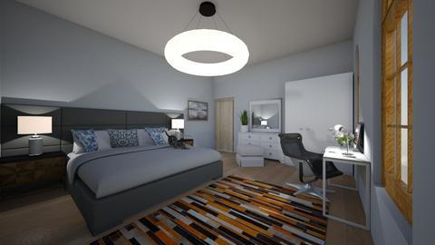 bedroom olek - Classic - Bedroom - by hrynia