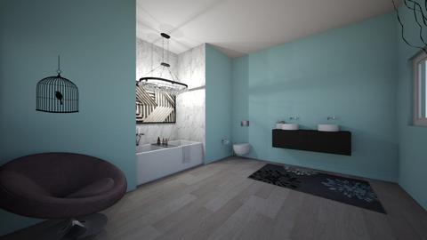 Bathtub  - Bathroom - by Ebooth23