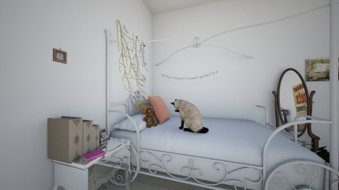 my bedroom - Vintage - Bedroom - by Eva Sterckx