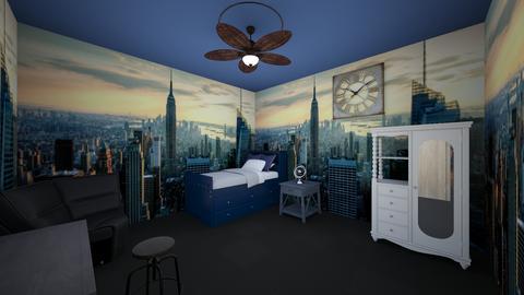 uzi 1 - Kids room - by UZIman123