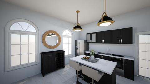 kitchen design - by JPikel54