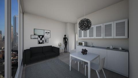 Chicago Apartment - Modern - Living room - by lexilav