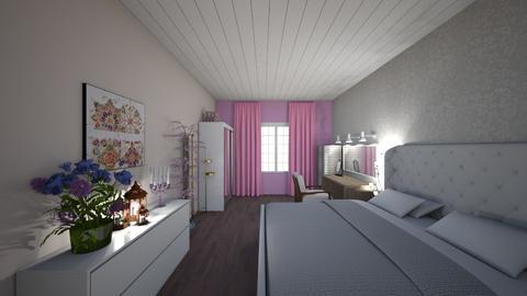 pink dreams - Bedroom - by lyub