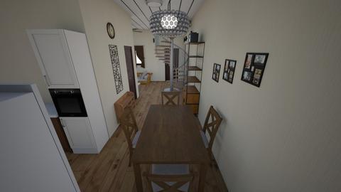 Foyer - Kitchen - by ARNOLD QUITA