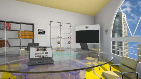 Office room - Classic - Office - by Bednna