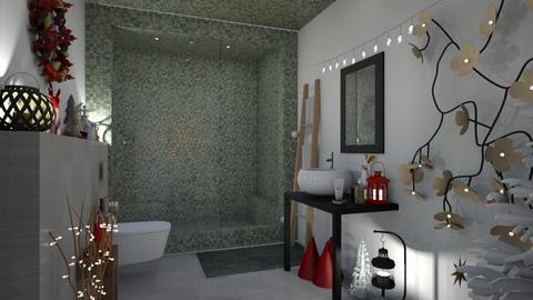 bathroom chrisms - by mariecap