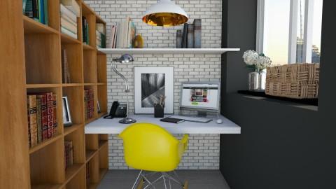 escritorio - Office - by sahfs