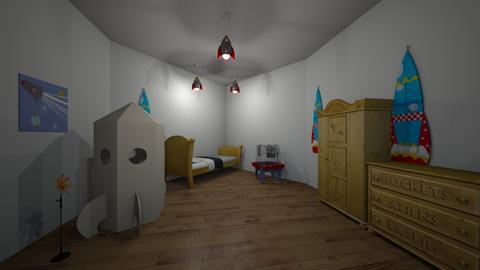 space room  - Kids room - by 9494