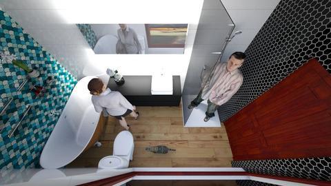 vonia 12 wide 2 - Bathroom - by Dennkka