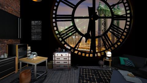 Clock Room - Living room - by deleted_1542559952_Amanda6328