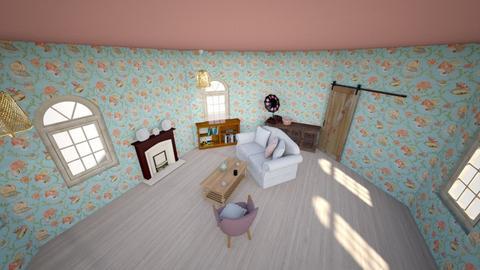 Vintage Sitting Room - Vintage - Living room - by Mara115