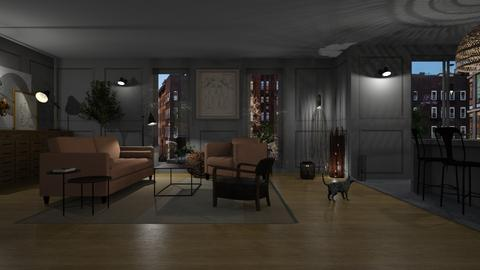 apartament - Feminine - Living room - by tolo13lolo