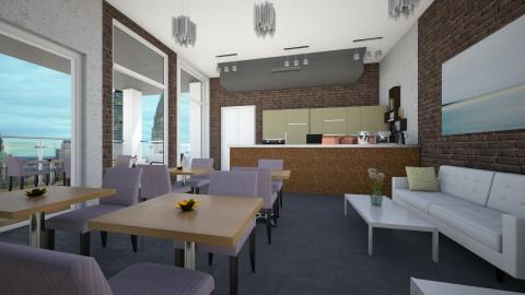 Coffee Shop - by HazelEvangelista