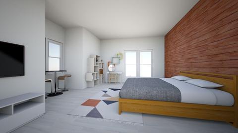 Kai Master bedroom - Bedroom - by Pat V