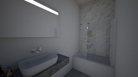 salle de bain - Bathroom - by rafaelavitorino93