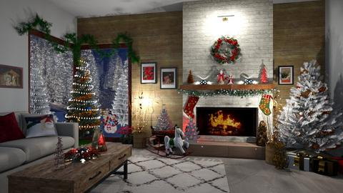 Christmas Dreams - Living room - by  krc60