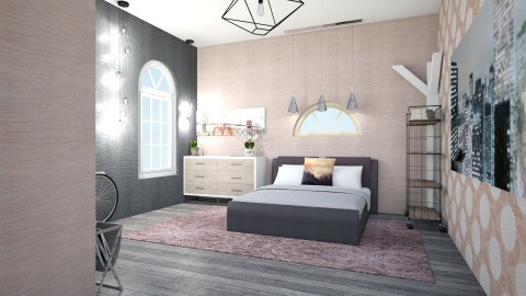 girlsbedroom1 - Modern - Bedroom - by Masha Gofman